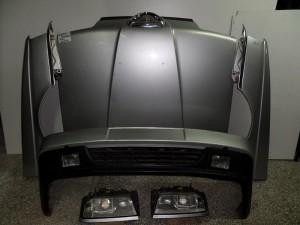 Alfa romeo 164 1992-1997 μετώπη εμπρός κομπλέ ασημί
