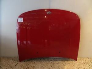 Nissan 100nx 91-95 καπό εμπρός κόκκινο