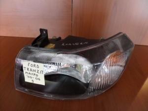 Ford transit 00-06 φανάρι εμπρός μαύρο αριστερό