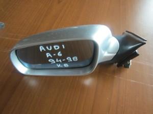Audi A6 1994-1997 ηλεκτρικός καθρέπτης αριστερός ασημί (8 καλώδια)