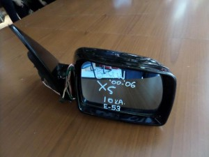 BMW X5 00-06 ηλεκτρικός καθρέπτης δεξιός μαύρος (10 καλώδια)