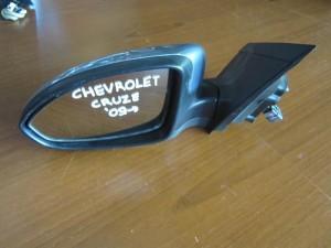 Chevrolet cruze 09 ηλεκτρικός καθρέπτης αριστερός γαλάζιος (5 ακίδες)