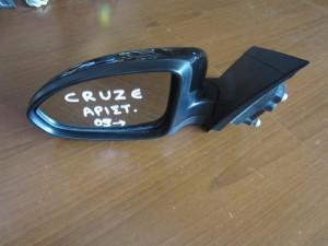 Chevrolet Cruze 2008-2016 ηλεκτρικός καθρέπτης αριστερός μαύρος (5 ακίδες)