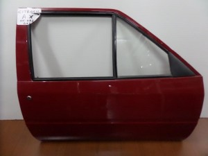 Citroen AX 91-95 2θυρο δεξιά πόρτα κόκκινη
