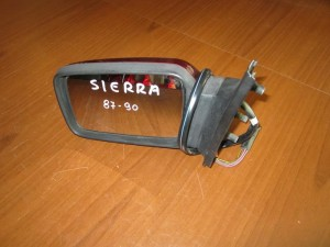 Ford sierra 1987-1990 ηλεκτρικός καθρέπτης αριστερός μπορντό