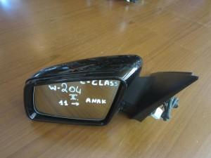 Mercedes C class w204 2011 καθρέπτης ηλεκτρικός ανακλινόμενος αριστερός μαύρος