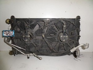 Chrysler stratus 95-01 2.0cc-2.5cc βενζίνη ψυγείο κομπλέ (νερού-air condition-βεντιλατέρ)