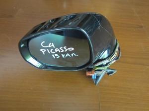 Citroen C4 picasso 07 ηλεκτρικός ανακλινόμενος καθρέπτης αριστερός μαύρος (15 καλώδια)