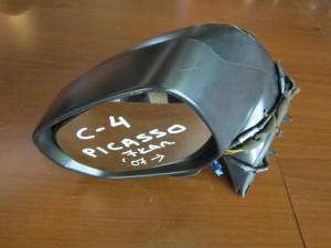 Citroen C4 picasso 07 ηλεκτρικός καθρέπτης αριστερός γκρί (7 καλώδια-πλαίσιο ματ)