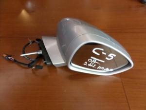 Citroen C5 08 ηλεκτρικός ανακλινόμενος καθρέπτης δεξιός ασημί (13 καλώδια-2 φίς)