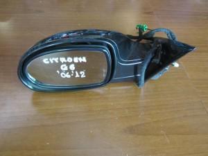 Citroen C6 2006-2012 ηλεκτρικός ανακλινόμενος καθρέπτης αριστερός μαύρος (13 καλώδια)