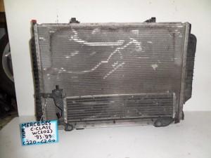 Mercedes w202 93-99 2.0-2.2cc diesel ψυγείο κομπλέ (νερού-air condition-βεντιλατέρ-υδροκούλερ)