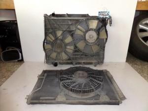 Suzuki grand vitara 99-06 2.0cc diesel ψυγείο κομπλέ (νερού-aircondition με βεντιλατέρ-βεντιλατέρ)