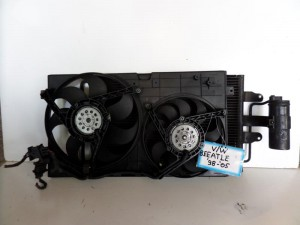 VW beetle 1998-2011 ψυγείο κομπλέ (νερού-air condition-βεντιλατέρ)