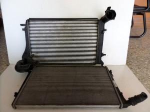 VW caddy 03-10 - Audi A3 03 1.9cc diesel ψυγείο νερού-ψυγείο intercooler