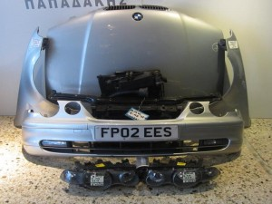 BMW E46 compact 01 μούρη εμπρός κομπλέ ασημί