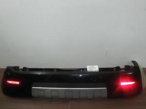 Fiat panda cross 2006-2011 πίσω προφυλακτήρας μαύρος
