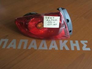 Seat altea 2005-2014 πίσω αριστερό φανάρι