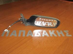 Toyota avensis 2003-2006 ηλεκτρικός ανακλινόμενος καθρέφτης δεξιός ασημί