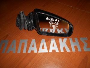 Audi A4 2001-2008 καθρέπτης δεξιός ηλεκτρικός 5 καλώδια μαύρος
