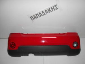 Chevrolet Matiz 2005-->προφυλακτήρας οπίσθιος Κορεάτικος κόκκινος