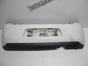 Citroen C3 2010-2013 προφυλακτήρας οπίσθιος με αισθητήρα άσπρος