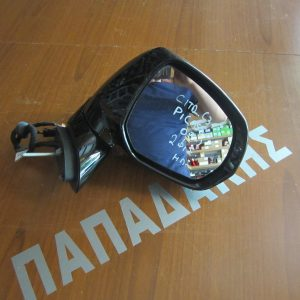 Citroen C3 Picasso 2009-2017 καθρέπτης δεξιός ηλεκτρικός 2 φις ασημί