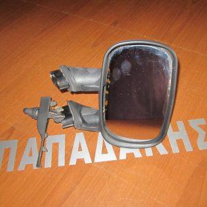 Fiat Doblo 2001-2010 καθρέπτης δεξιός μηχανικός χωρίς καπάκι