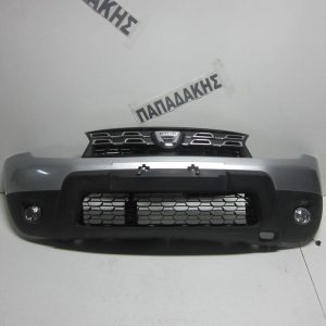 Dacia Duster 2010-2013 προφυλακτήρας εμπρός ασημί