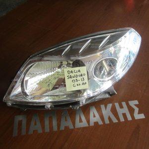 Dacia Sandero 2007-2012 φανάρι εμπρός αριστερό