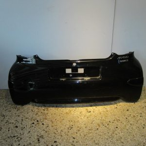 Toyota Aygo 2006-2012 (2012-2014) προφυλακτήρας πίσω μαύρος