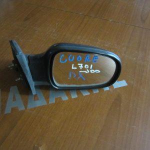 Daihatsu Cuore L700 1998-2002  καθρεπτης απλός μαύρος δεξις