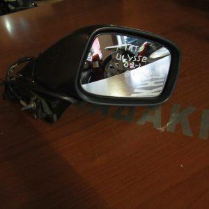 Fiat Ulysse 2002- καθρέπτης δεξιός ηλεκτρικός 8 καλώδια μαύρος