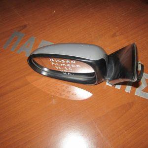 Nissan Almera N16 2000- καθρέπτης αριστερός ηλεκτρικός ασημί