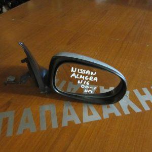 Nissan Almera N16 2000- καθρέπτης δεξιός ηλεκτρικός ασημί
