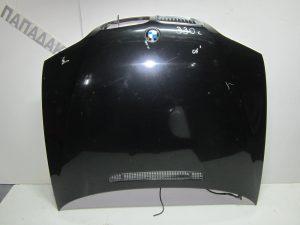 Bmw Series 3 E46 Lift 2θυρο 2003-2005 καπό εμπρός μαύρο