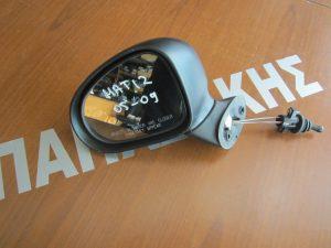 Chevrolet Matiz 2005-2009 καθρεπτησ αριστερος  μηχανικος αβαφος