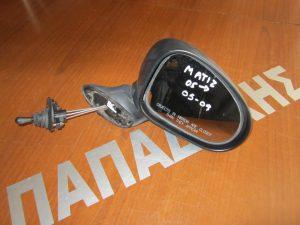 Chevrolet Matiz 2005-2009 καθρεπτης δεξιος μηχανικος αβαφος