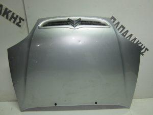 Citroen Saxo 2000-2003 καπό εμπρός ασημί