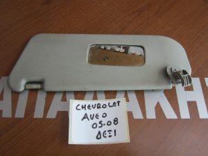 Chevrolet Aveo 2005-2008 αλεξήλιο δεξιό