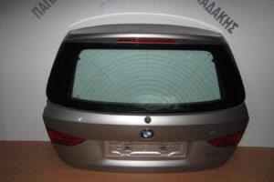 Bmw X1 E84 2009-2015 πόρτα μπαγκάζ ασημί