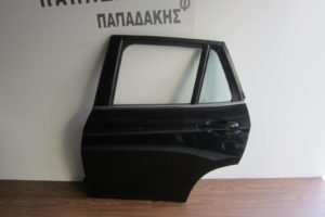 Bmw X1 E84 2009-2015 πόρτα πίσω αριστερή μαύρο