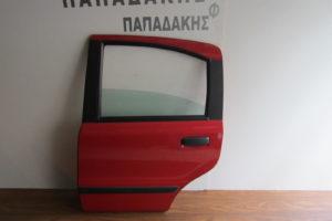 Fiat Panda 2003-2012 πόρτα πίσω αριστερή κόκκινη