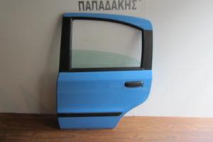 Fiat Panda 2003-2012 πόρτα πίσω αριστερή μπλε ανοιχτό