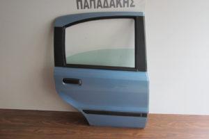 Fiat Panda 2003-2012 πόρτα πίσω δεξιά ασημογαλάζια