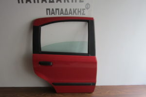 Fiat Panda 2003-2012 πόρτα πίσω δεξιά κόκκινη