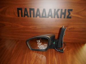 VW Up/Seat Mii/Skoda Citigo 2012-2017 ηλεκτρικός καθρέπτης αριστερός ασημί σκούρο