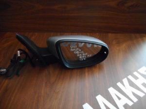 VW Golf 6 2008-2013 δεξιός καθρέπτης ηλεκτρικά ανακλινόμενος ασημί 13 καλώδια φως ασφαλείας
