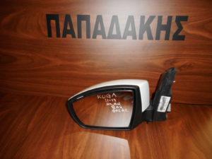 Ford Kuga 2012-2018 αριστερός καθρέπτης ηλεκτρικά ανακλινόμενος άσπρος 8 ακίδες φως ασφαλείας