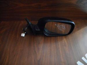 Toyota Avensis 2006-2009 δεξιός καθρέπτης ηλεκτρικά ανακλινόμενος μαύρος 9 καλώδια